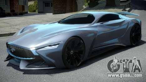 Infiniti Vision Gran Turismo 2014 for GTA 4