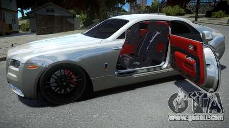 Rolls-Royce Wraith for GTA 4