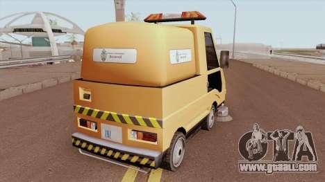 Sweeper Romania Bucuresti for GTA San Andreas