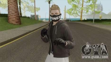 Skin De GTA 5 Online for GTA San Andreas