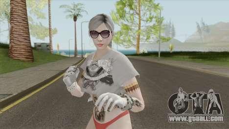 Skin Female Instagram Tugh Dancer GTA V for GTA San Andreas