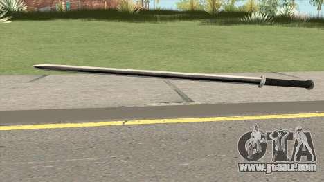 Iron Katana (Dynasty Han) for GTA San Andreas