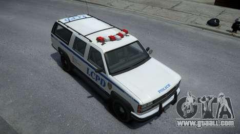 Declasse Granger Retro Police for GTA 4