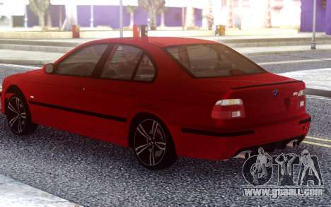 BMW E39 Stock for GTA San Andreas
