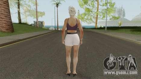 Jill Valentine Casual V1 for GTA San Andreas