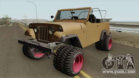 Jeep Commando 1969 for GTA San Andreas