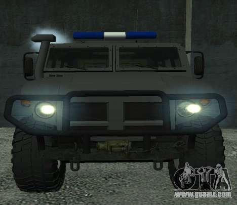 GAZ 2330 Regardie for GTA San Andreas