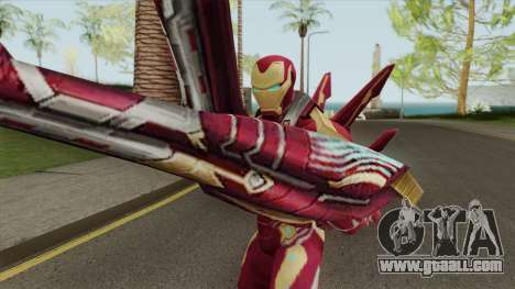 Iron Man Mark W Skin for GTA San Andreas