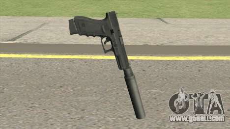 Contract Wars Glock 18 Suppressed for GTA San Andreas