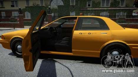 Vapid Stanier Modern Taxi for GTA 4