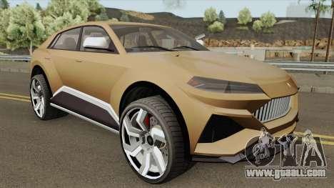 Pegassi Toros GTA V IVF for GTA San Andreas