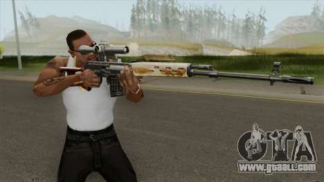 GDCW SVD Dragunov for GTA San Andreas