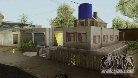Carl New Home In Ganton for GTA San Andreas