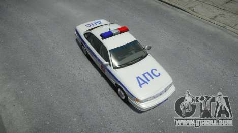 Ford Crown Victoria Moscow Police 1995 for GTA 4