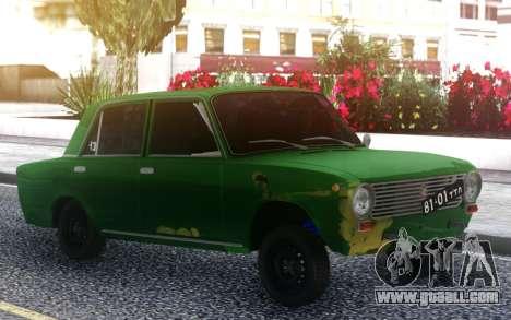 VAZ 2101 Green for GTA San Andreas