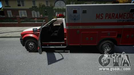 Vapid Sadler Ambulance for GTA 4
