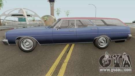 Dundrealy Regina GTA IV TLAD IVF for GTA San Andreas