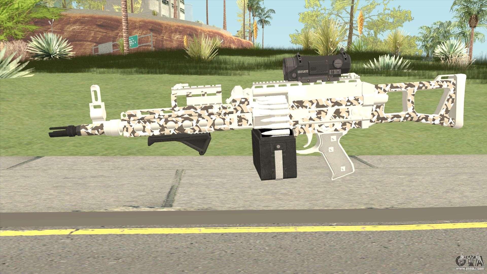 Combat MG MKII Geometry Livery GTA V for GTA San Andreas
