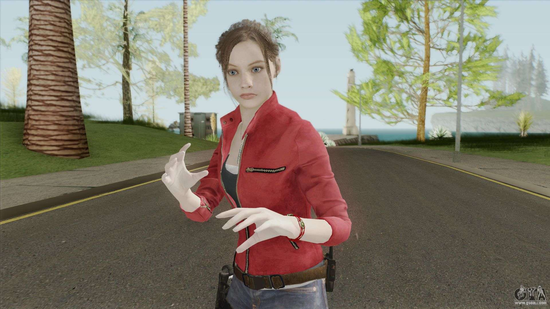 Claire Redfield Fighter for GTA San Andreas