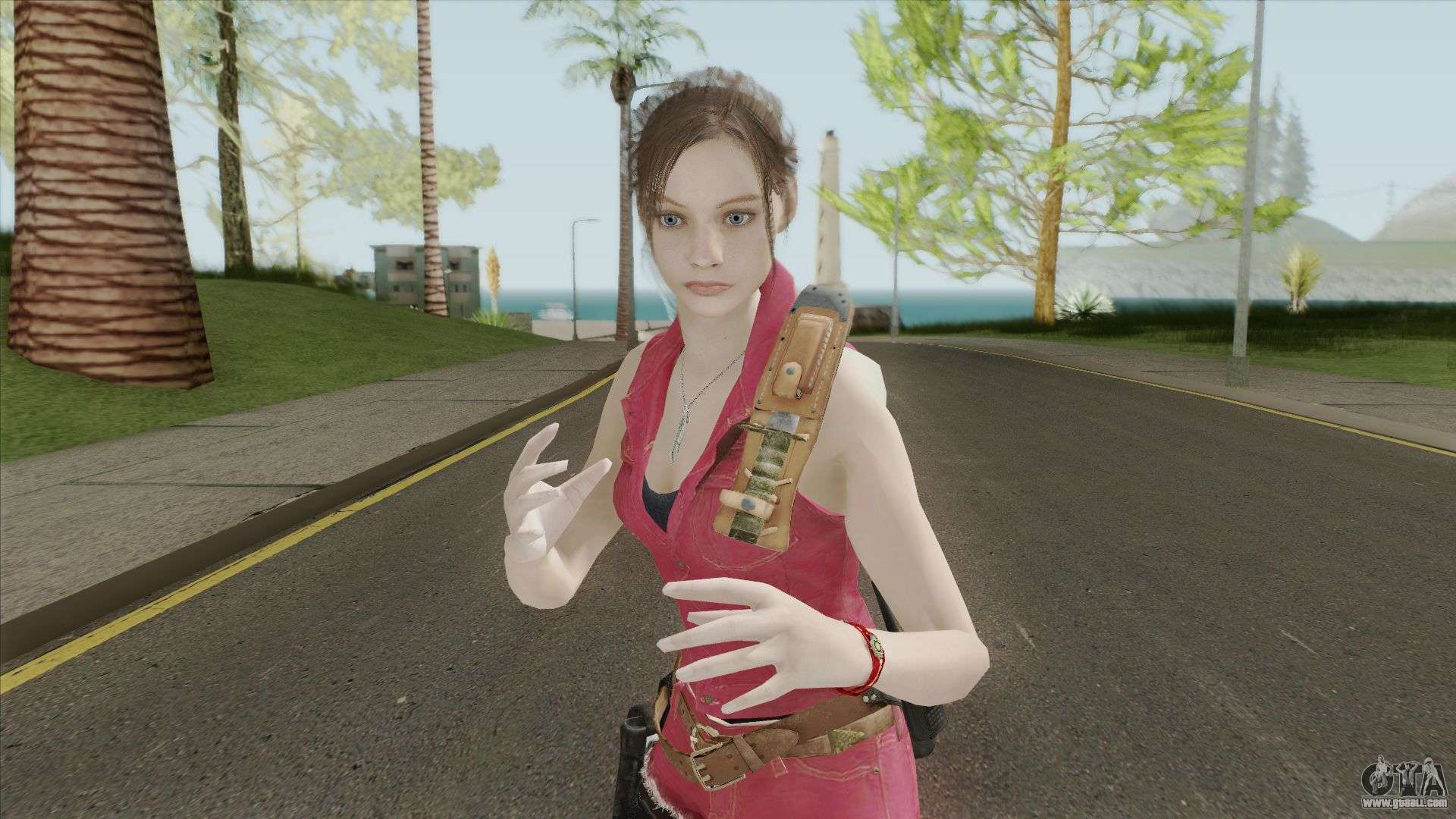 Claire Redfield Classic Suit RE2 Remake for GTA San Andreas
