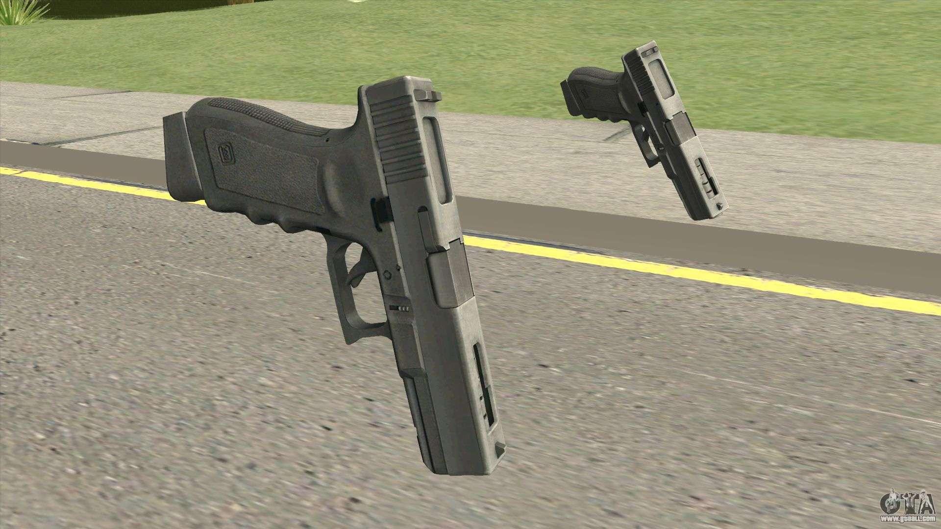 Contract Wars Glock 18 For GTA San Andreas