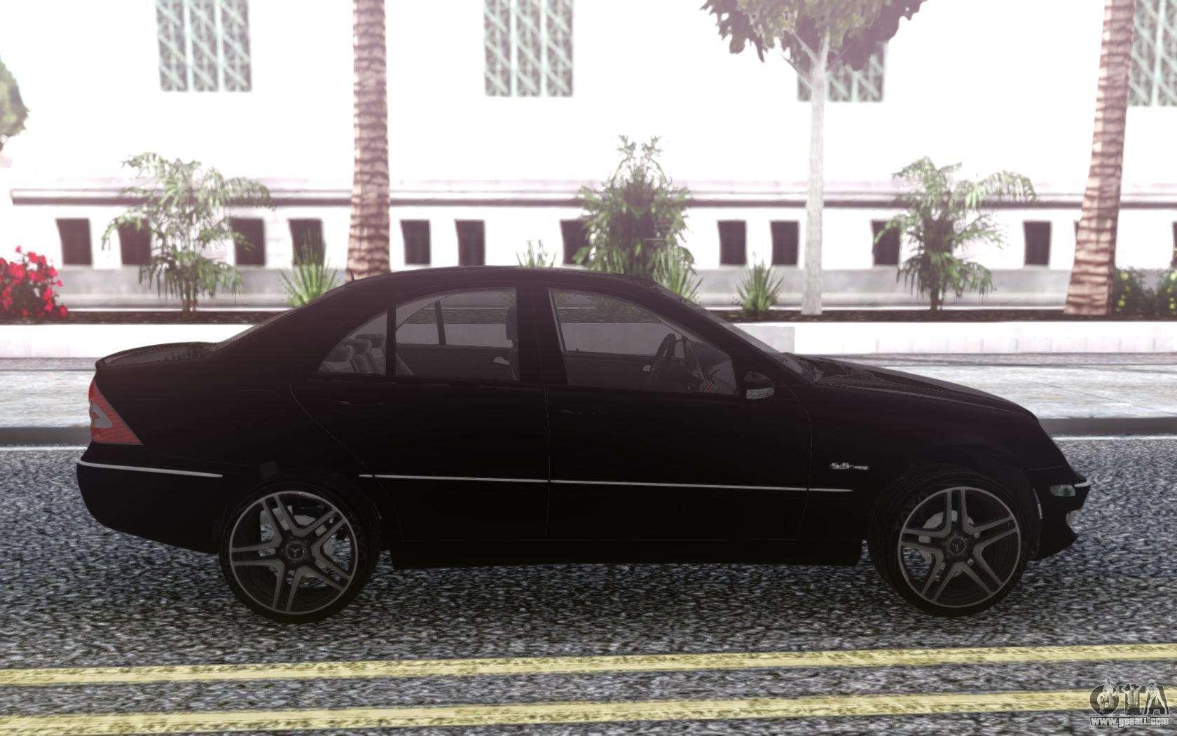 Mercedes-Benz C55 W203 AMG for GTA San Andreas