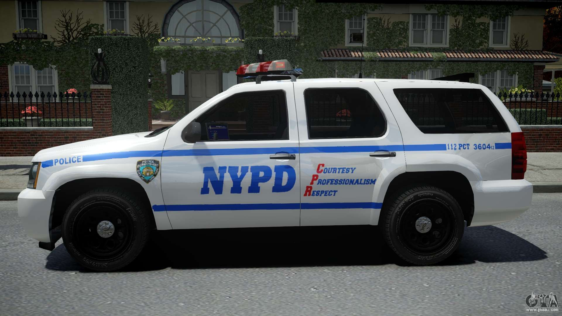 Chevrolet Tahoe NYPD Police 2015 for GTA 4