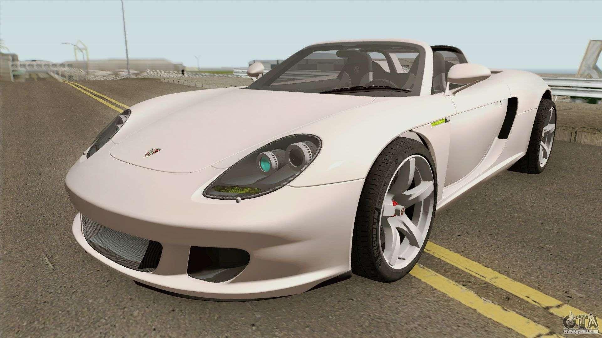 Porsche Carrera Gt 2003 Hq For Gta San Andreas
