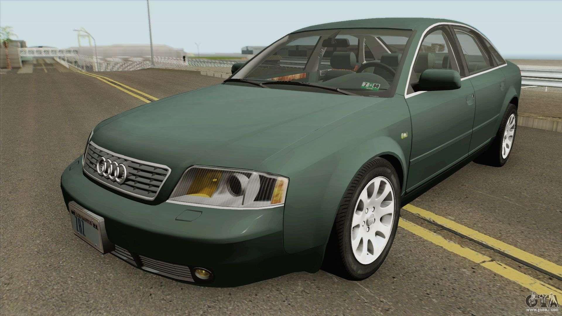 Audi A6 C5 Prefacelift 27 Biturbo 00 Us Spec For Gta San Andreas
