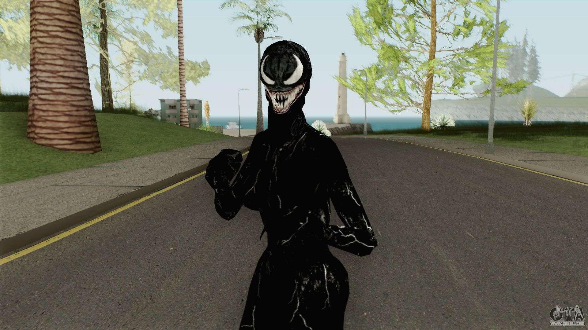 She Venom Skin for GTA San Andreas