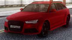 Audi RS6 Avant Red for GTA San Andreas
