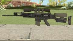 CS-GO SCAR-20 (Carbon Fiber Skin) for GTA San Andreas