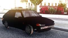 VAZ 2114 Black Bumper for GTA San Andreas