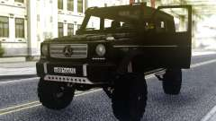 Mercedes-Benz G500 4х4 Black for GTA San Andreas