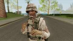 CJ Traje De Milita for GTA San Andreas