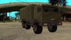 KamAZ 54115 Military for GTA San Andreas