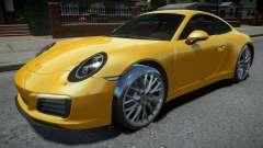 Porsche 911 Carrera S 2017 for GTA 4