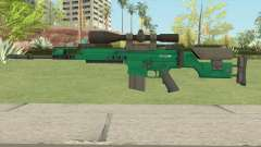 CS-GO SCAR-20 (Emerald Bravo Skin) for GTA San Andreas