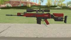CS-GO SCAR-20 (Webs Darker Skin) for GTA San Andreas