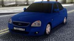VAZ 2170 Priora Blue for GTA San Andreas
