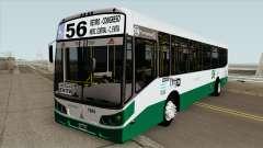 Linea 56 Todobus Pompeya II Agrale MT15 Interno for GTA San Andreas