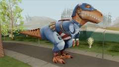 T-Rex Captain America From Avengers Academy for GTA San Andreas