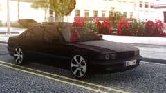 BMW 740i E38 BLACK for GTA San Andreas