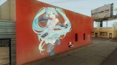 Graffiti De Hatsune Miku for GTA San Andreas
