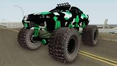 Nissan Skyline R32 Monster Truck Camo for GTA San Andreas