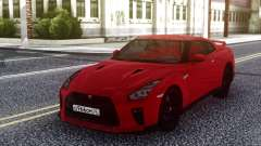 Nissan GT-R R35 Red for GTA San Andreas
