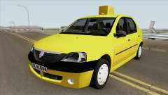 Dacia Logan Taxiul Lui Rata 2004 for GTA San Andreas