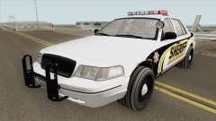 Ford Crown Victoria SACSO 2007 for GTA San Andreas