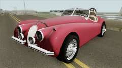 Jaguar XK120 for GTA San Andreas