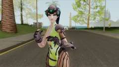 Widowmaker Green Battle Suit for GTA San Andreas